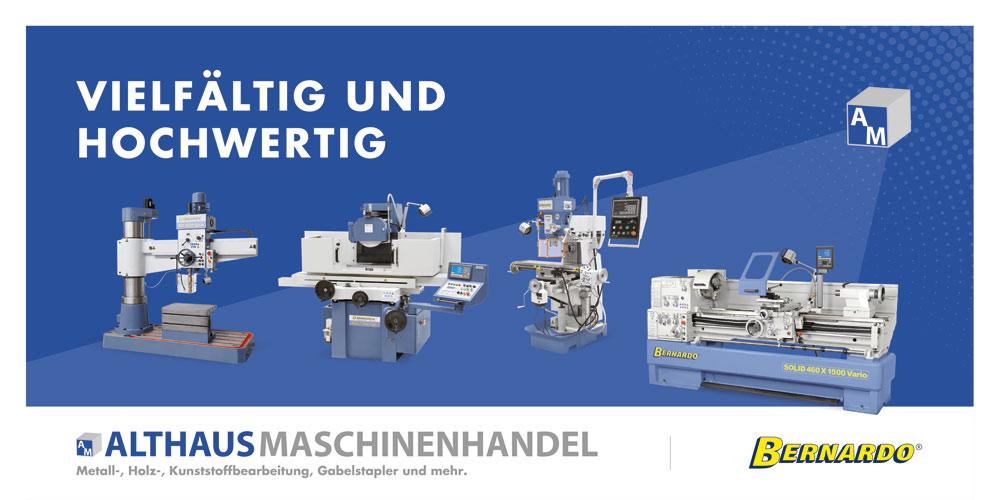 Bernardo Maschinen bei Althaus Maschinenhandel kaufen